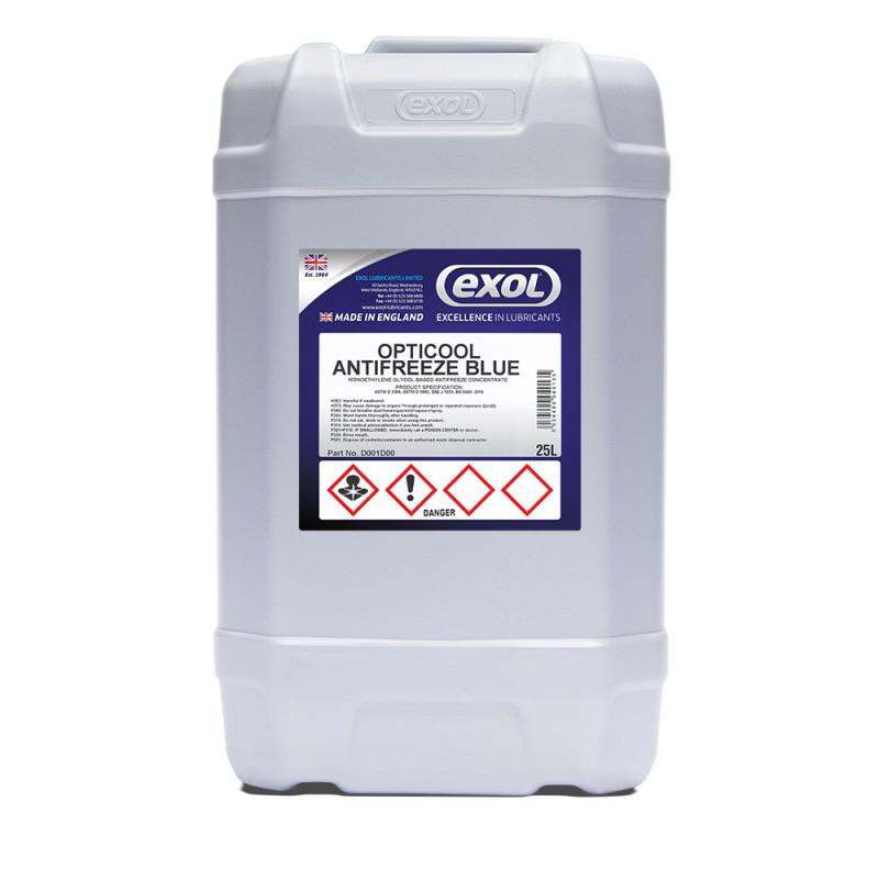 OPTICOOL ANTIFREEZE BLUE (D001)