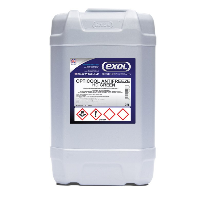 OPTICOOL ANTIFREEZE HD GREEN (D027)