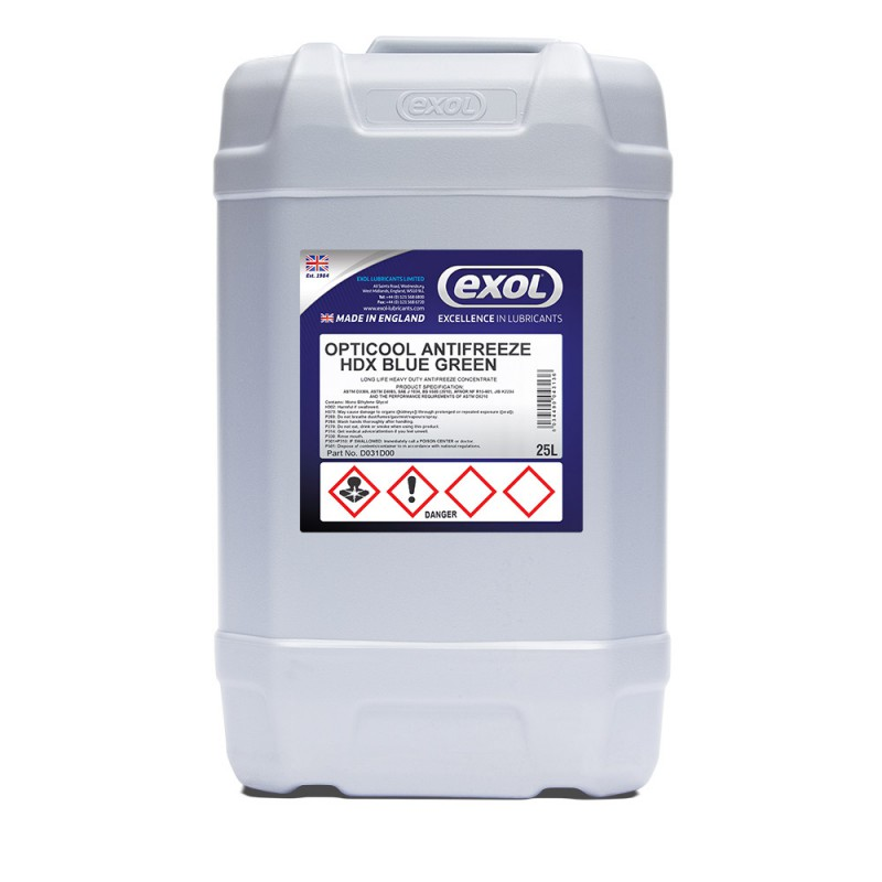 OPTICOOL ANTIFREEZE HDX BLUE GREEN (D031)