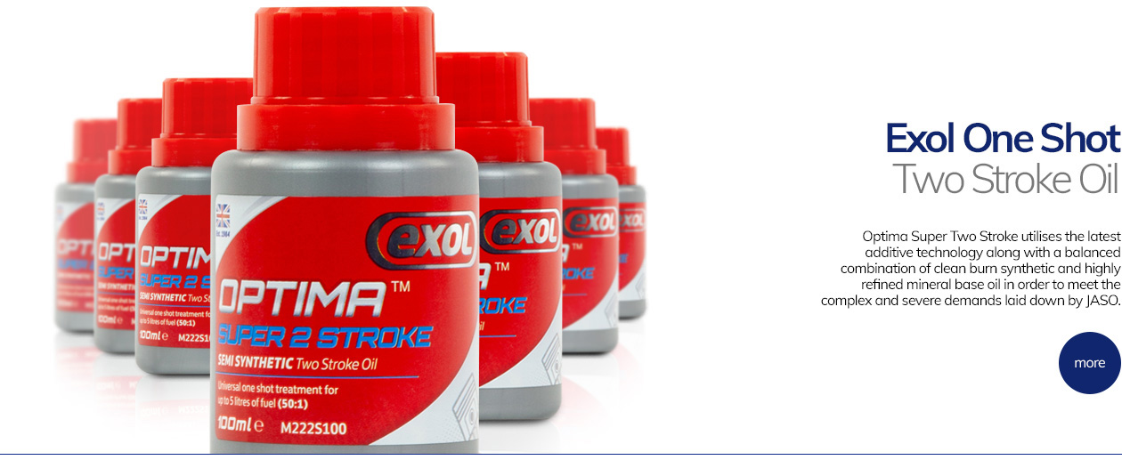 Optima Super Two Stroke utilises the latest additive technology along with a balanced combination of clean burn synthetic and highly refined mineral base oil in order to meet the complex and severe demands laid down by JASO.